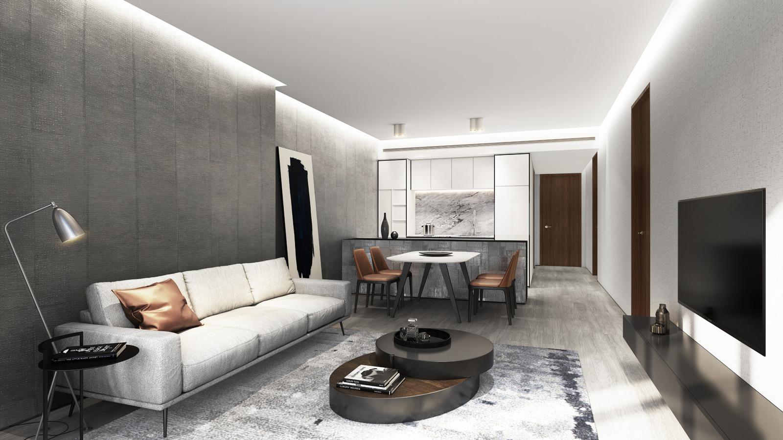 nội thất chung cư fraser residence hà nội