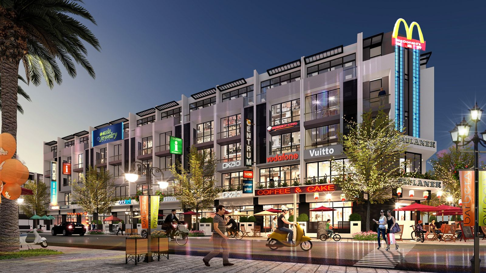 shophouse s - downtown thanh trì