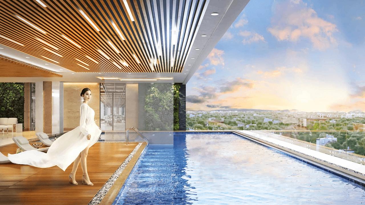 bể bơi dự án brg legend