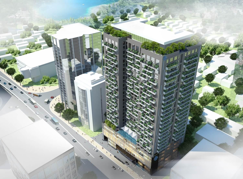 dự án vinaconex green building láng hạ