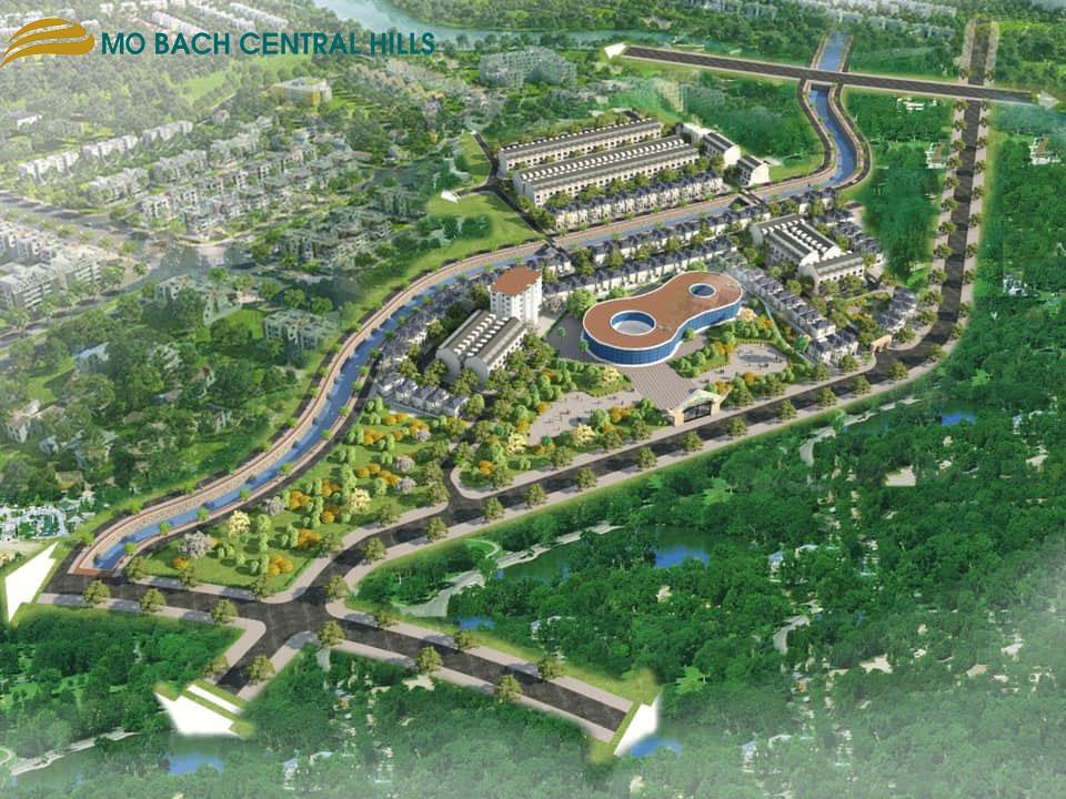 dự án mỏ bạch central hills