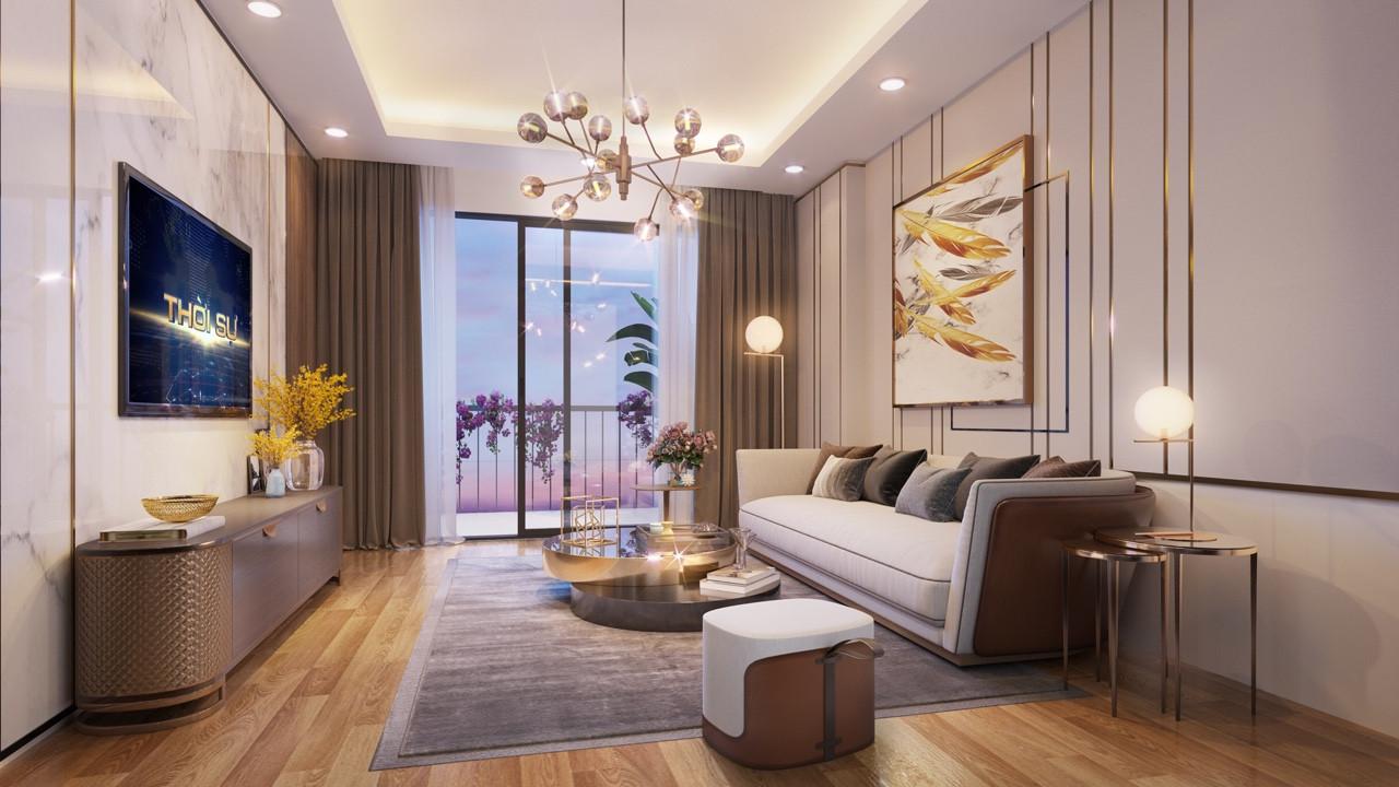 nội thất căn hộ epic home