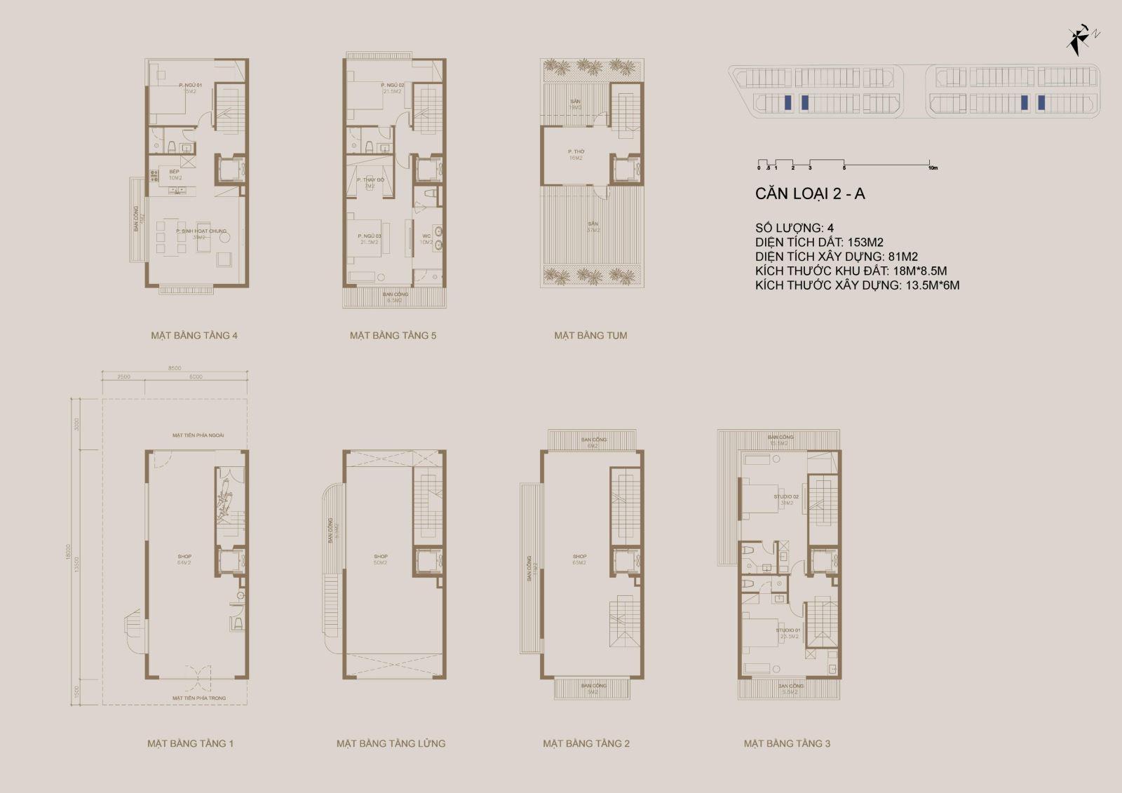 thiết kế nhà phố shophouse