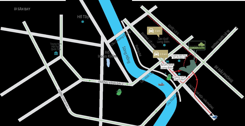 vị trí dự án 88 central