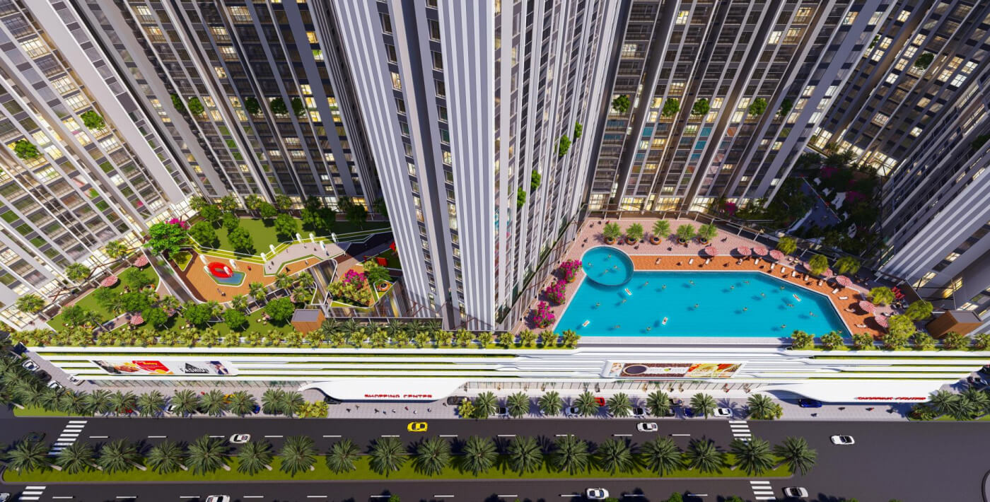 tiện ích dự án central residence gamuda