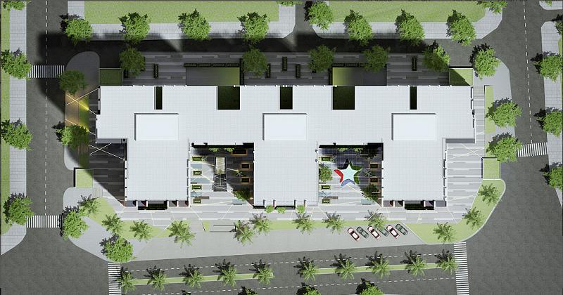 mặt bằng dự án five star residence