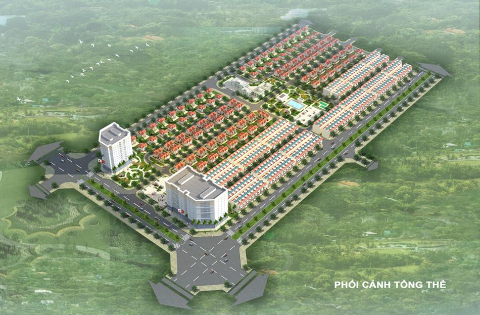 dự án mê linh new city