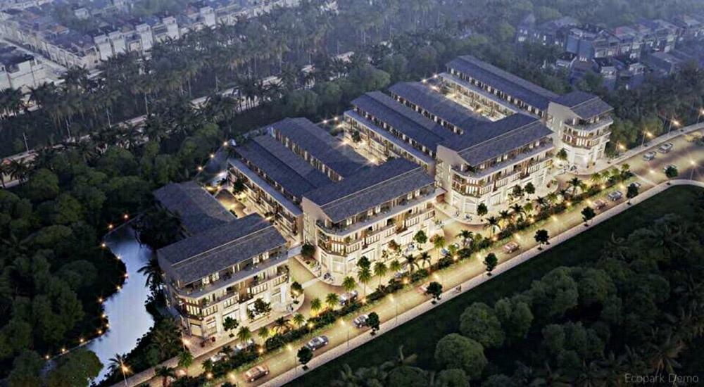 dự án nhà phố thủy trúc residences ecopark