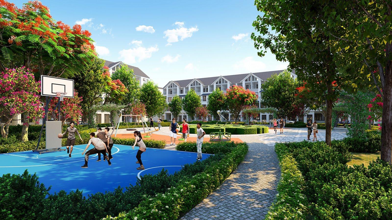 sân thể thao dự án hinode royal park