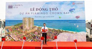 lễ động thổ dự án flamingo crown bay hải tiến thanh hóa