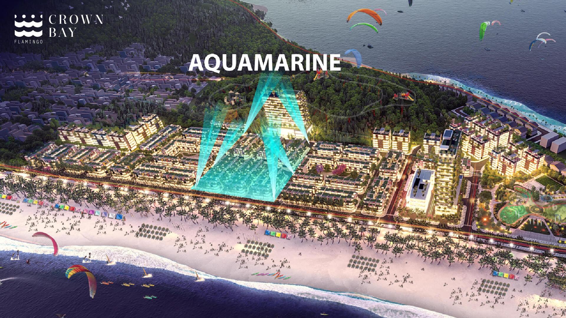 phân khu aquamarine