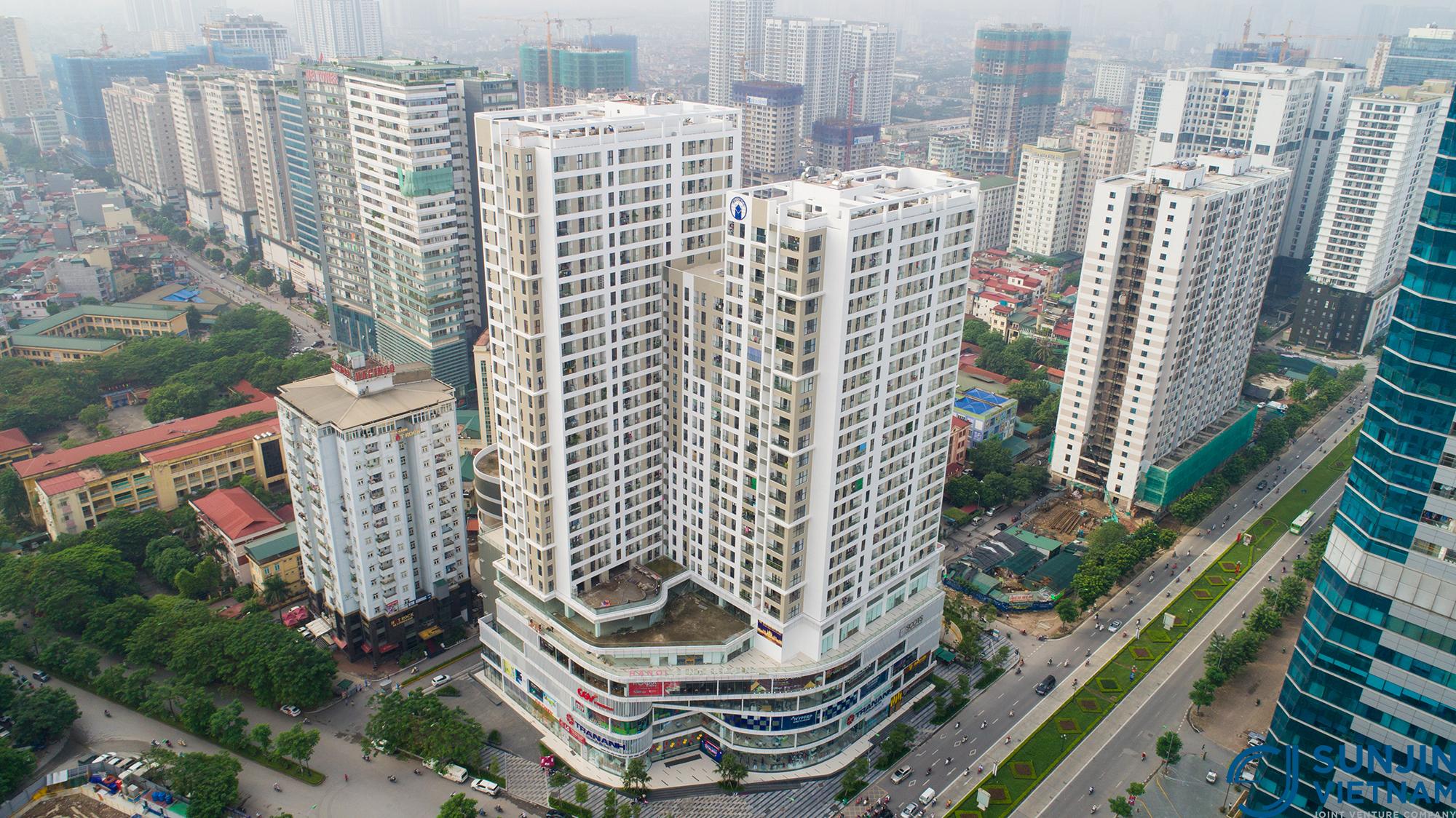 dự án chung cư hà nội center point lê văn lương