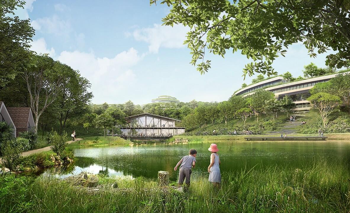 Legacy Hill khác biệt ở đa dạng công năng, có quần thể tự nhiên và sở hữu lâu dài