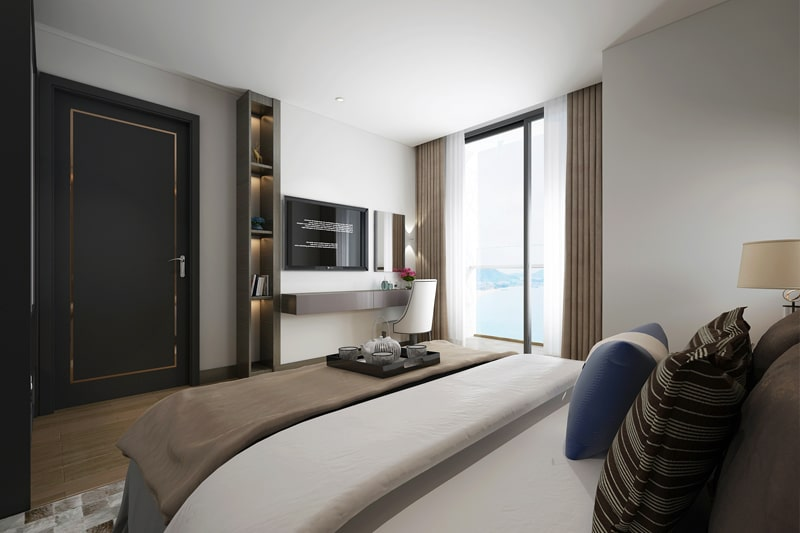 nội thất chung cư anland lake view