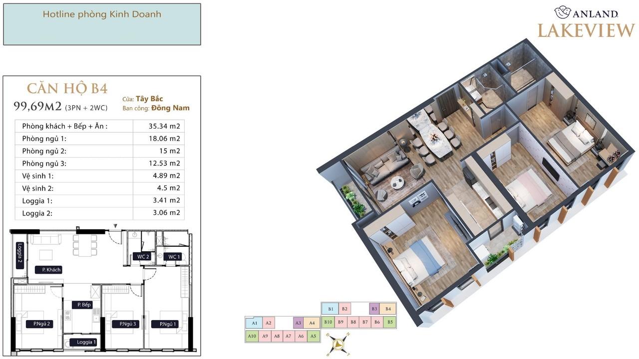 thiết kế chi tiết căn hộ 10