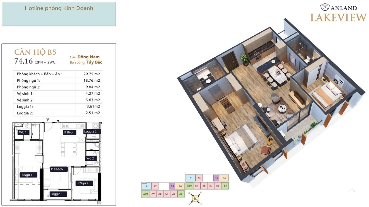 thiết kế chi tiết căn hộ 11