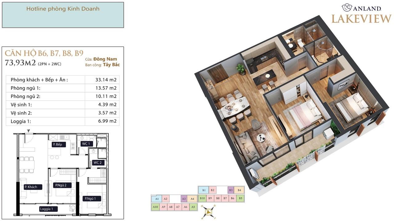 thiết kế chi tiết căn hộ 12