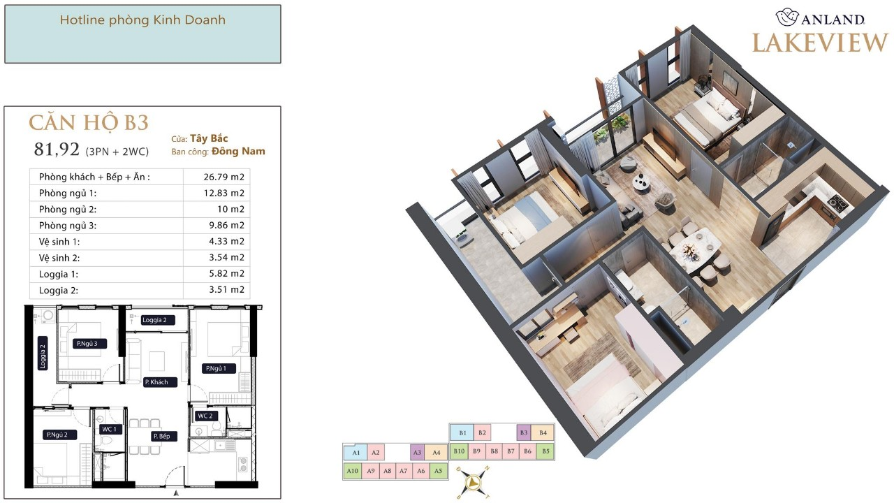 thiết kế chi tiết căn hộ 9