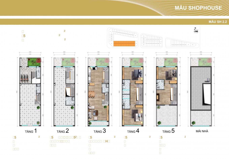 thiết kế shophouse gia lâm central 2