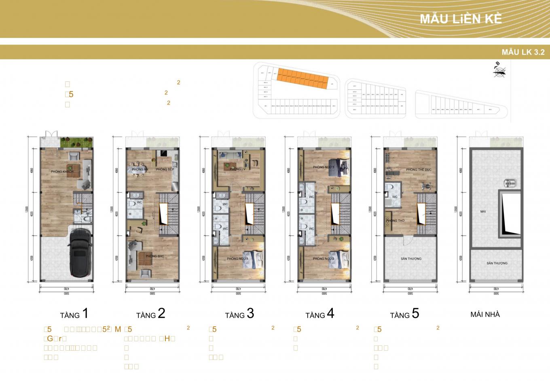thiết kế shophouse gia lâm central 4