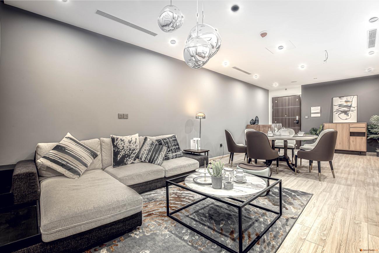 nội thất căn hộ chung cư harmony square