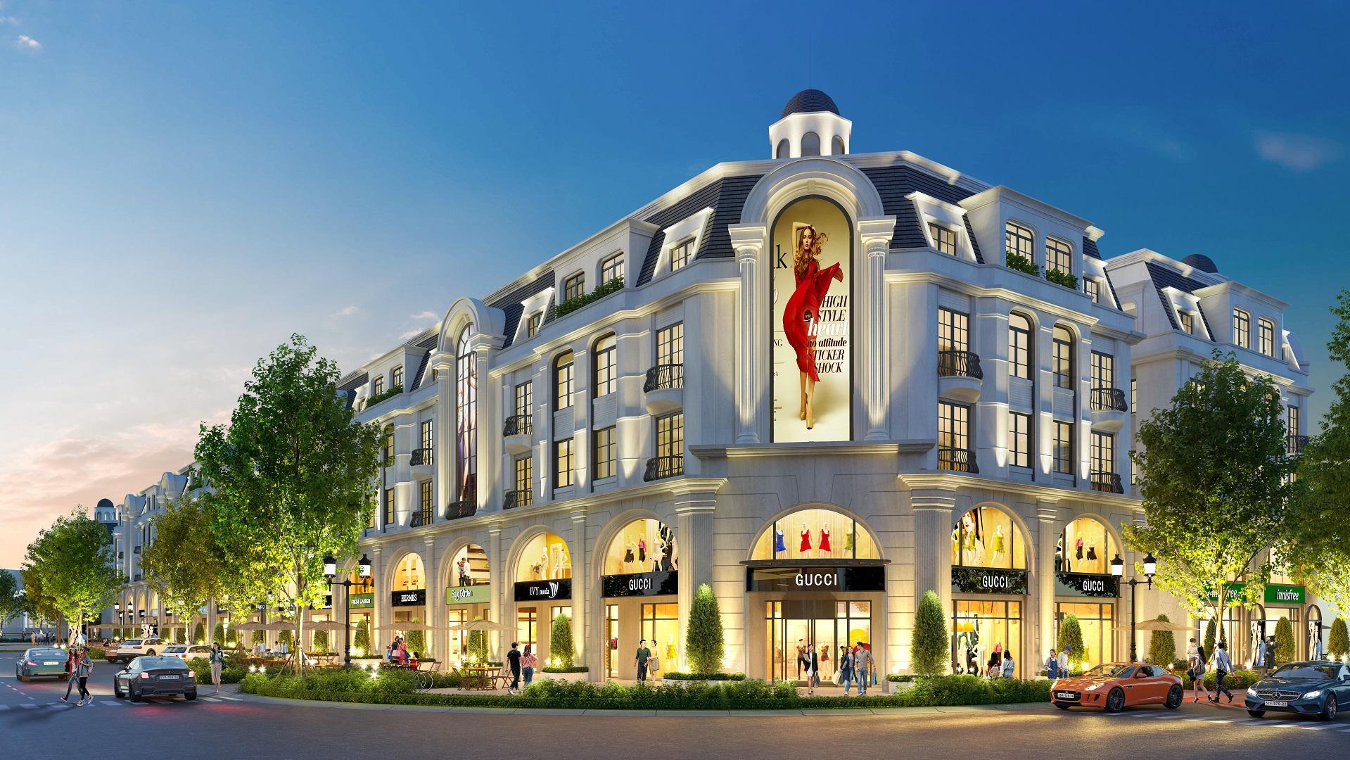 shophouse dự án hinode royal park