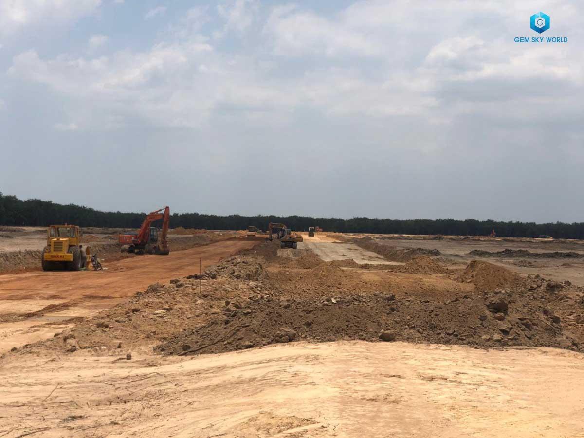 tiến độ dự án gem đất xanh group