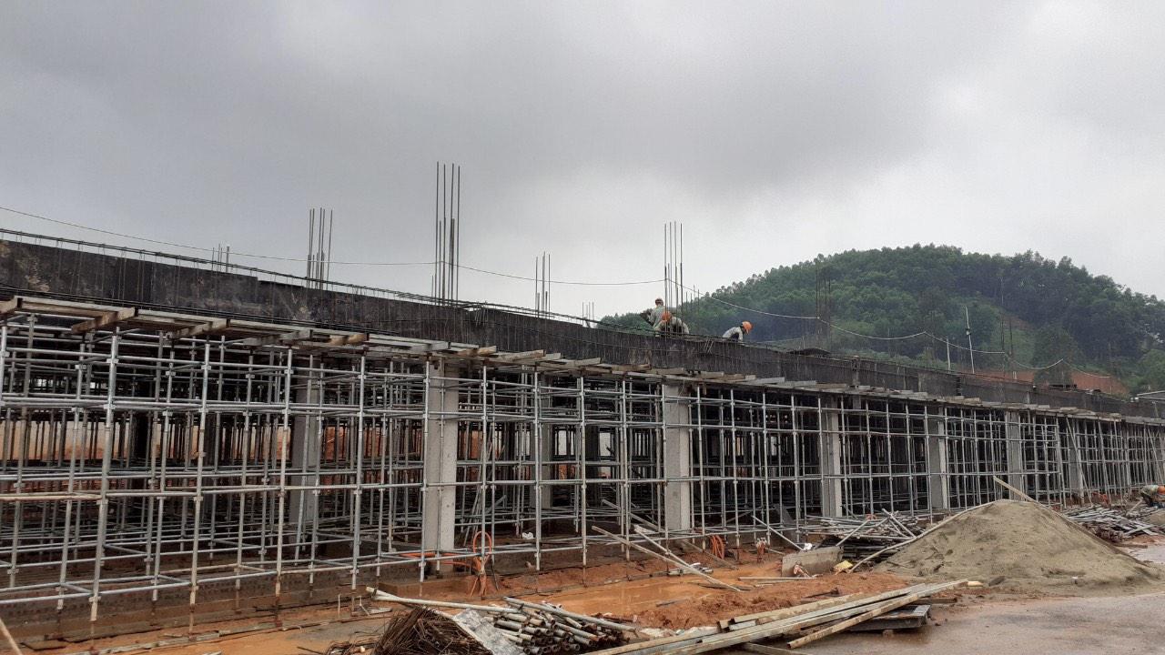 tiến độ xây dựng spring hills tuyên quang