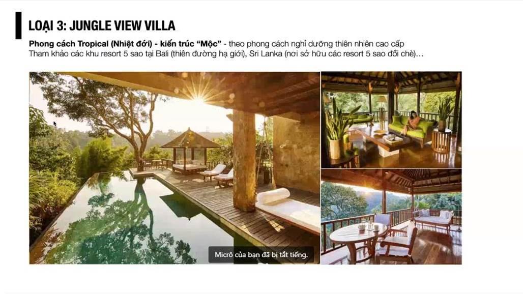 spring hills tuyên quang phân khu jungle view villa