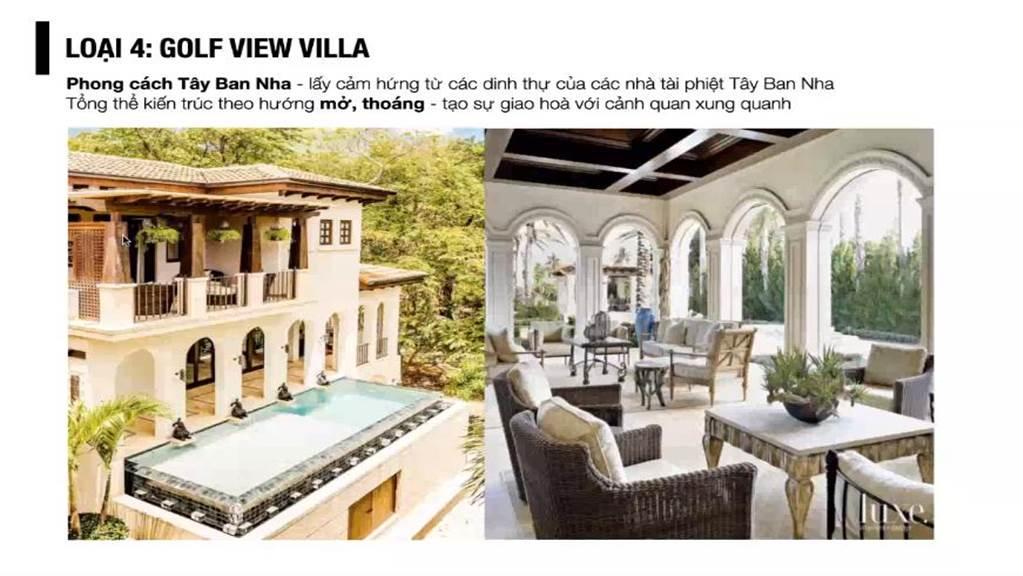 spring hills tuyên quang phân khu golf view villa