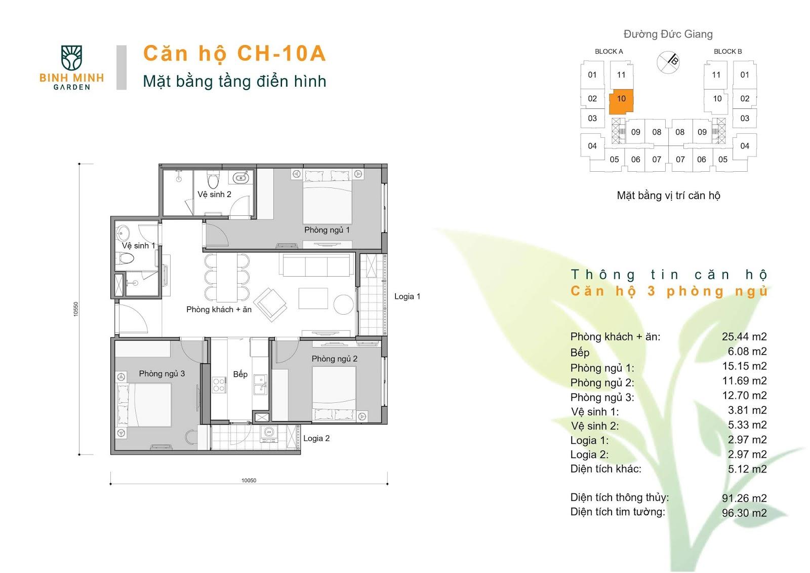 thiết kế căn hộ ch10