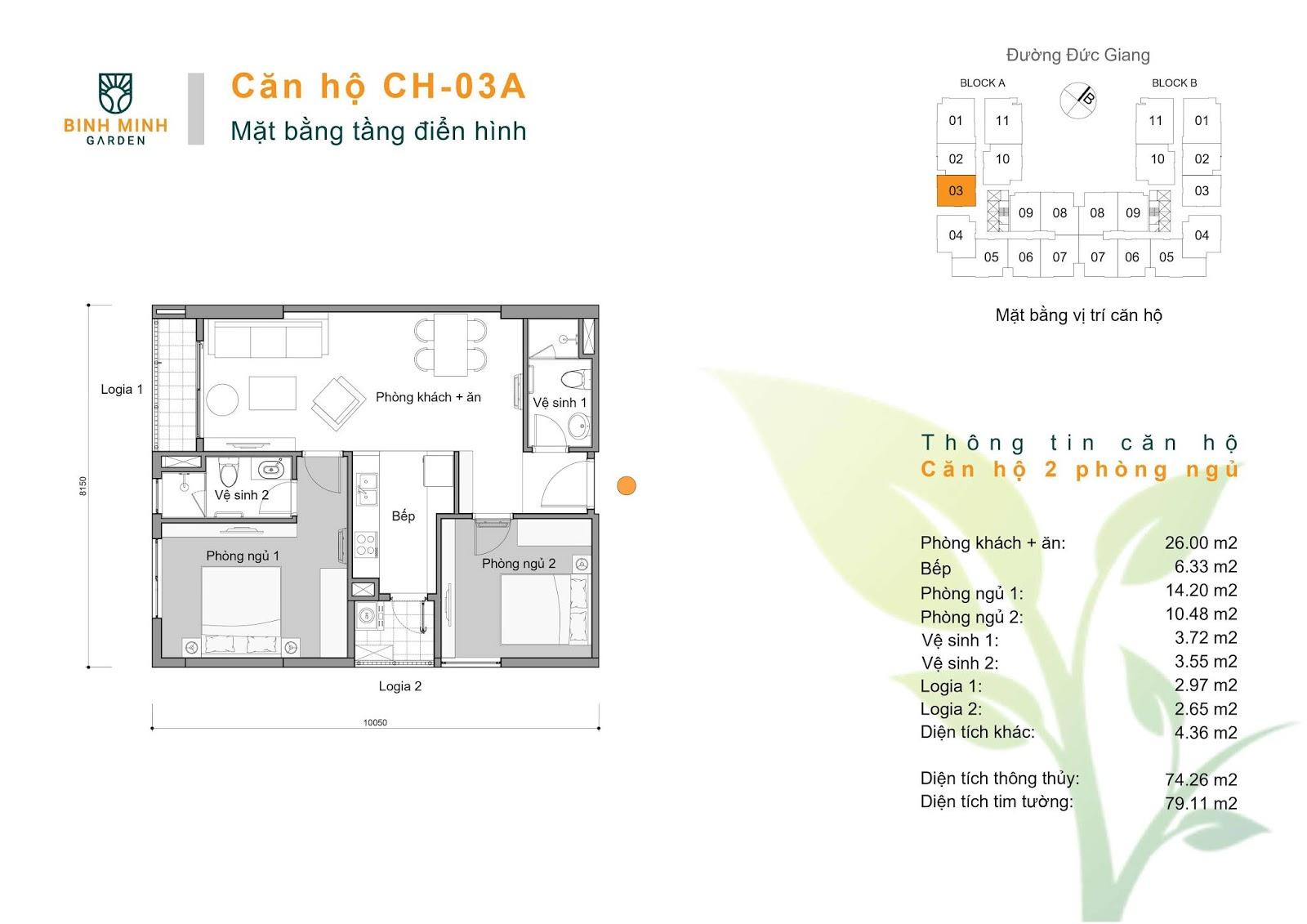 thiết kế căn hộ ch3