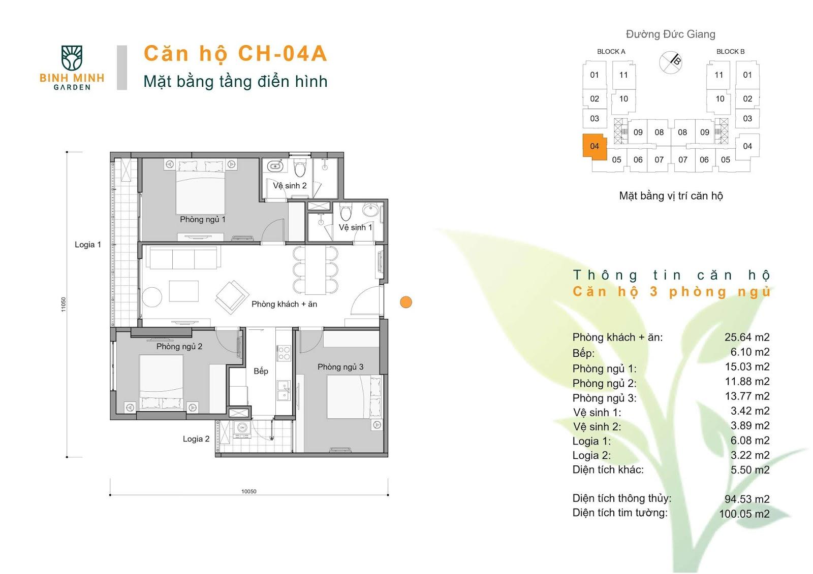 thiết kế căn hộ ch4