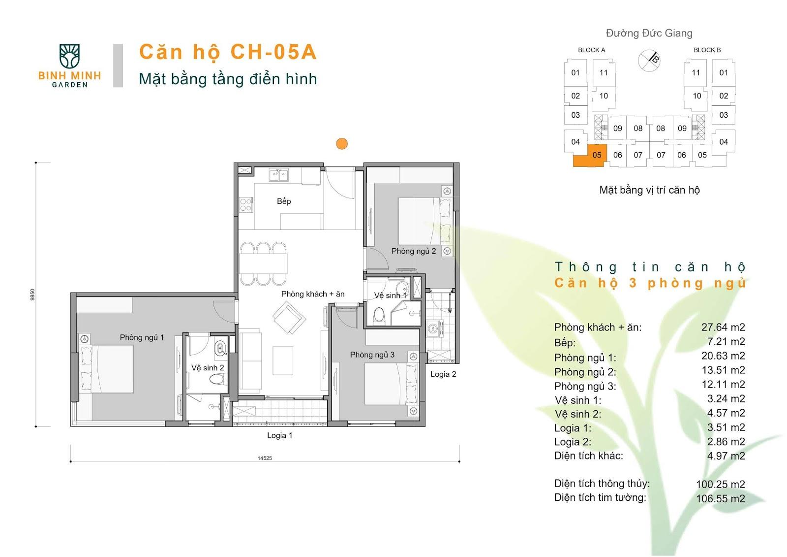 thiết kế căn hộ ch5