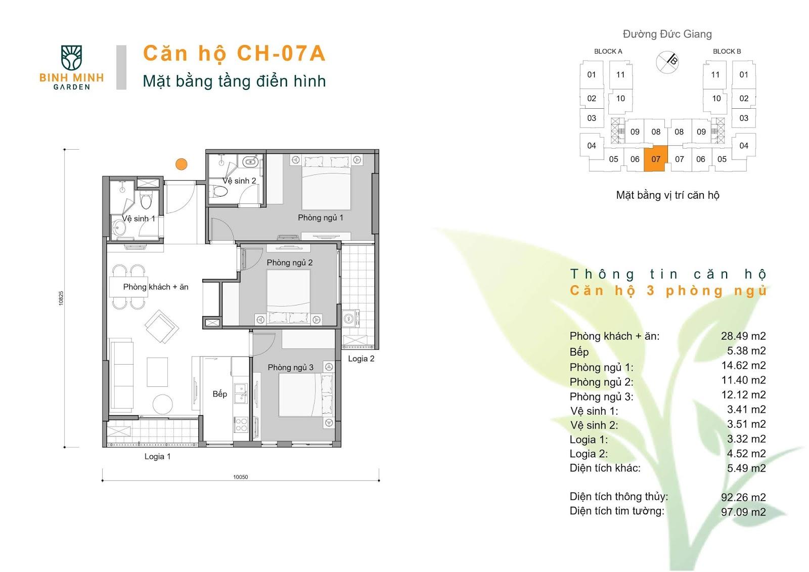 thiết kế căn hộ ch7