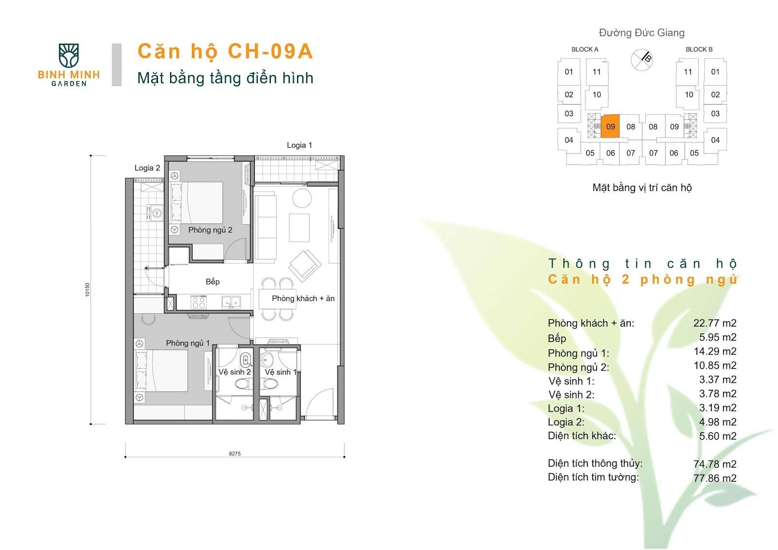 thiết kế căn hộ ch9