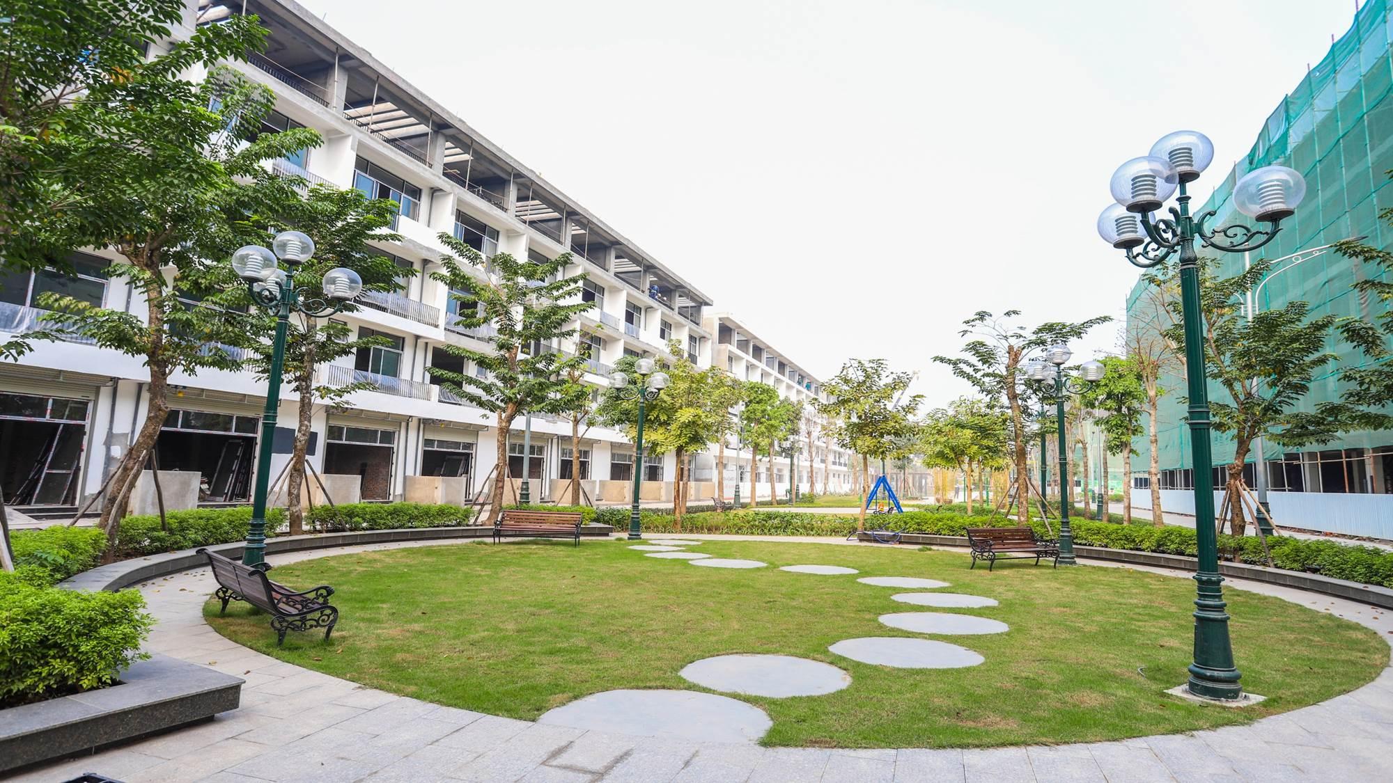 tiến độ dự án chung cư bình minh garden