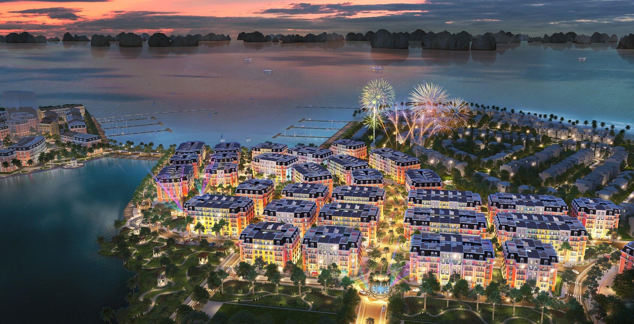 dự án shoptel aqua city hạ long