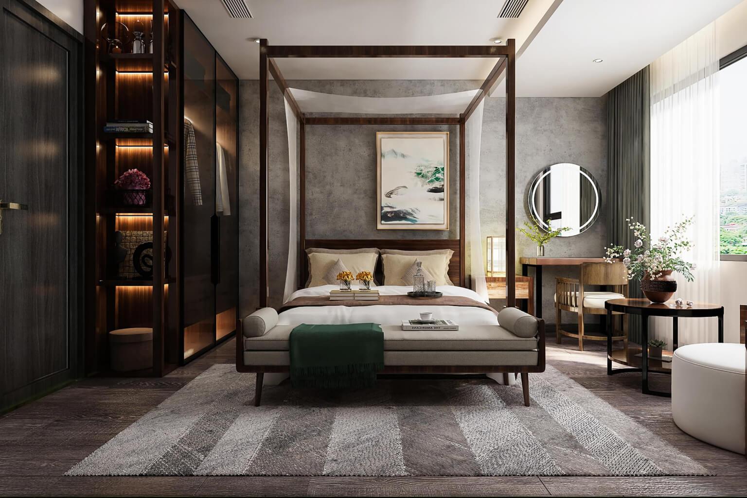phòng ngủ chính central residence