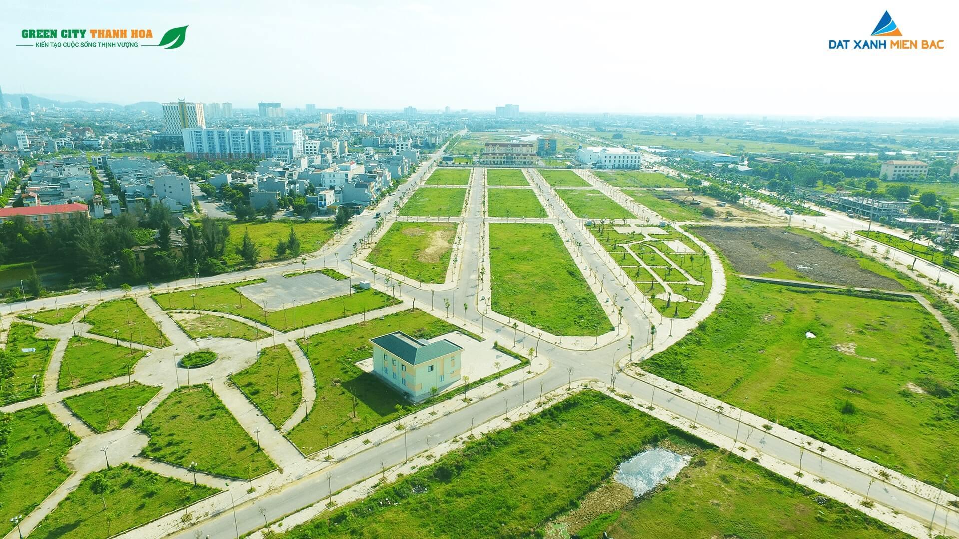 đất nền khu đô thị green city thanh hóa