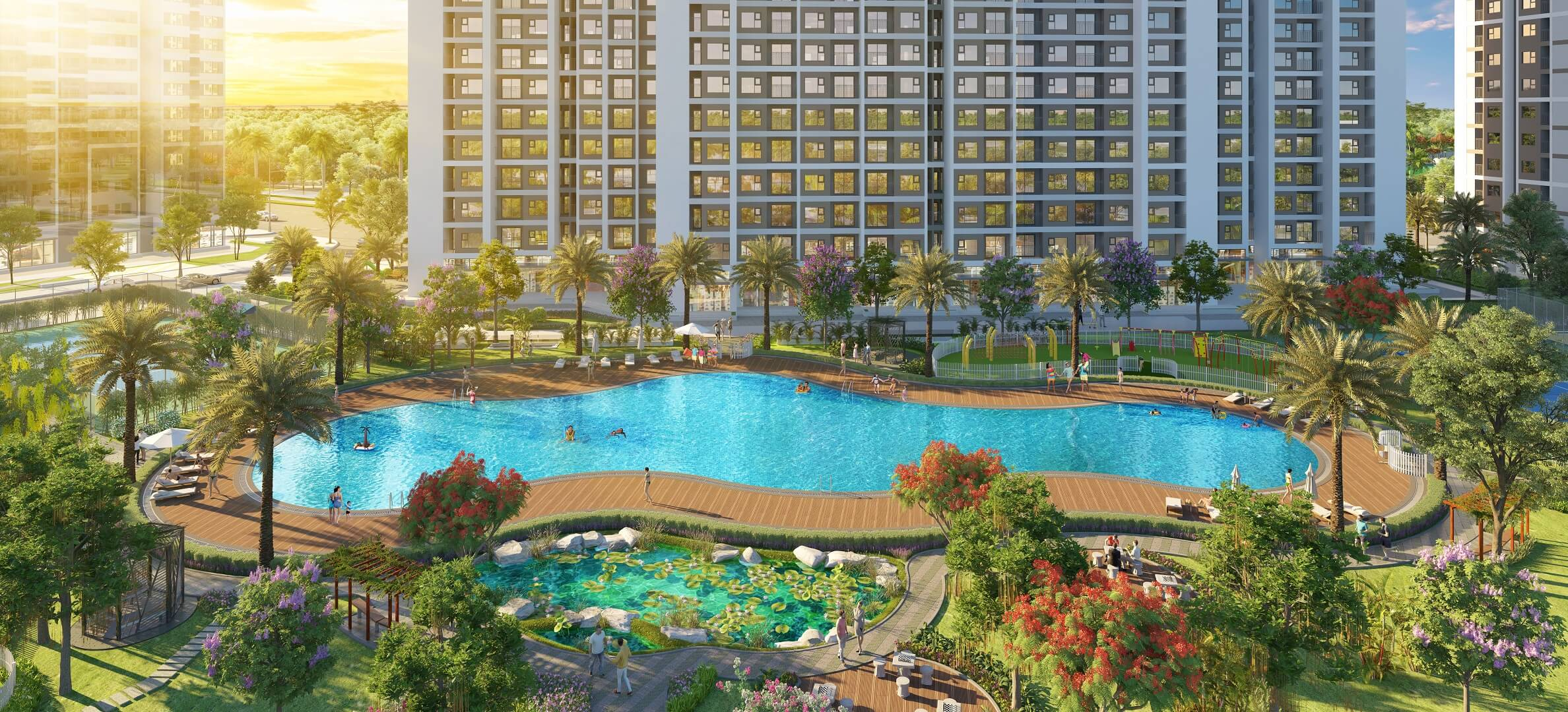 bể bơi imperia smart city