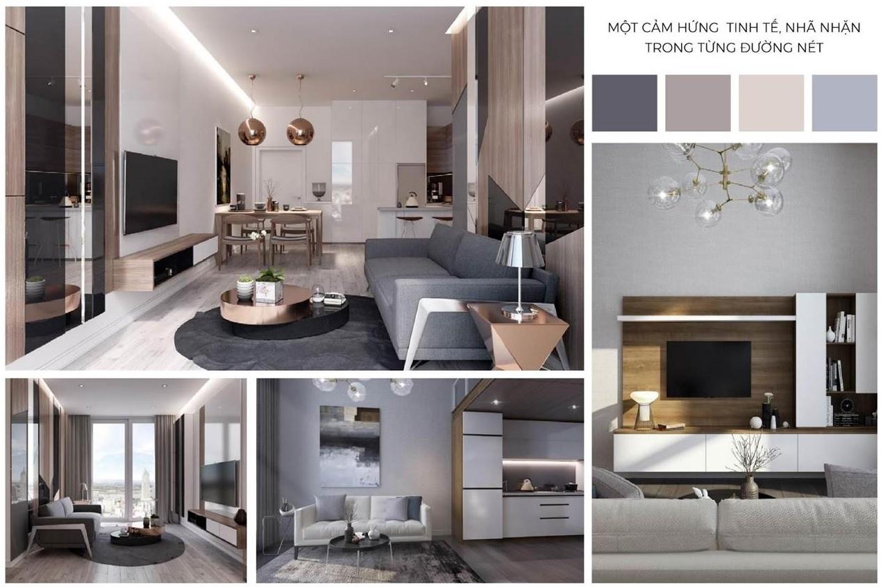 nội thất căn hộ chung cư lancaster luminaire