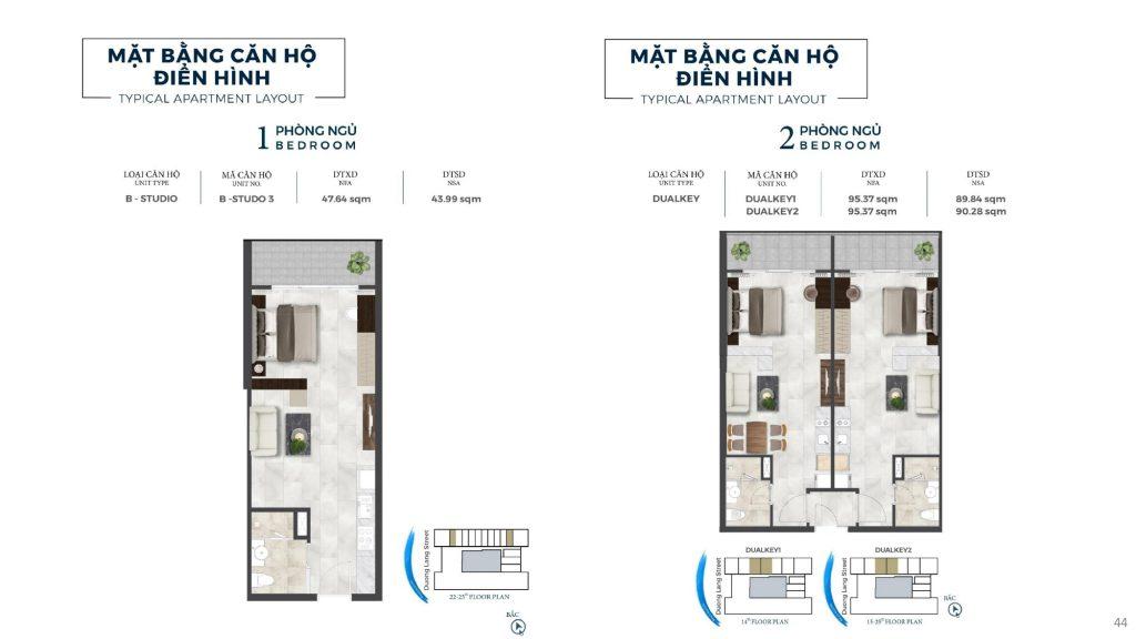 thiết kế chi tiết căn hộ lâu dài