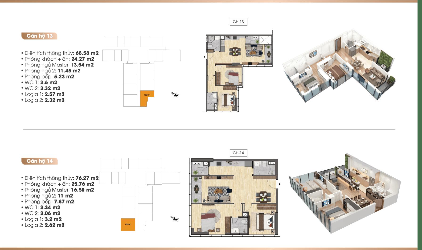 thiết kế chi tiết căn hộ tnr the nosta