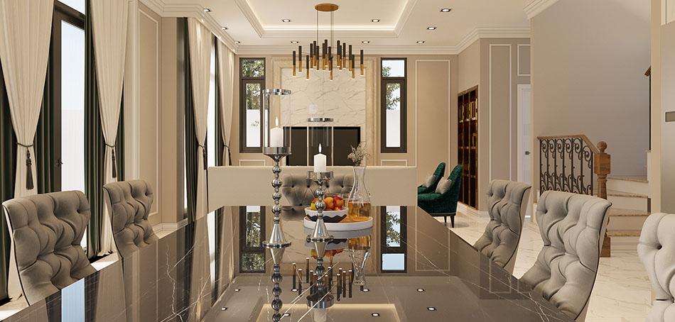thiết kế nội thất liền kề