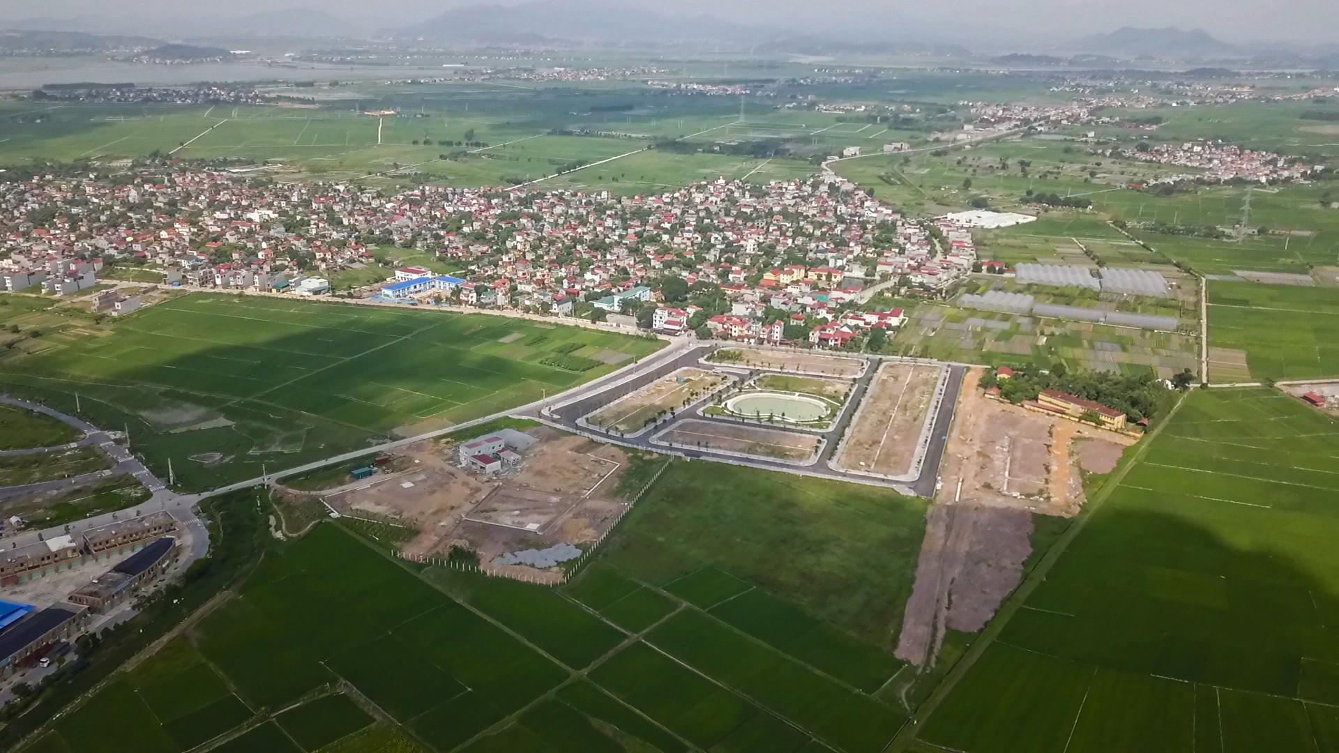 tiến độ dự án yên dũng green park