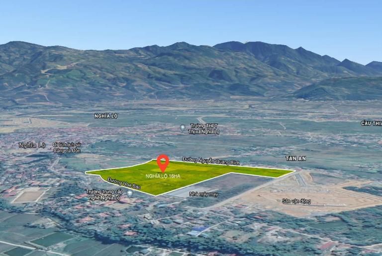vị trí dự án apec golden valley mường lò nghĩa lộ