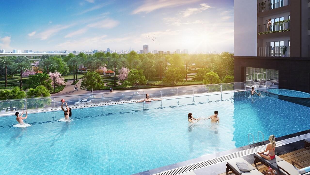 bể bơi phương đông green park