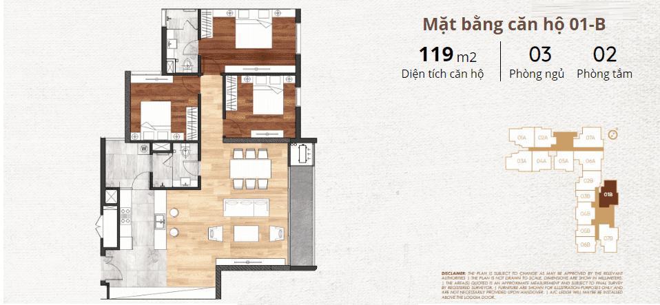 thiết kế chi tiết căn hộ 1b
