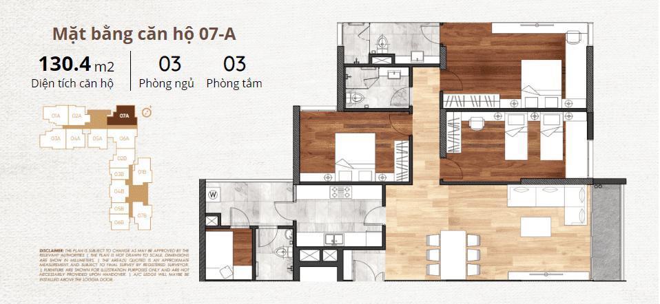 thiết kế chi tiết căn hộ 7a